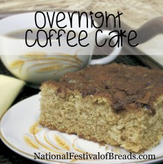 Image: Overnight Coffee Cake.