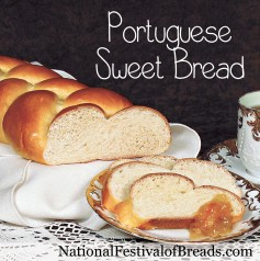 Image: Portuguese Sweet Bread.