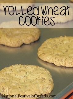 Image: Rolled Wheat Cookies.