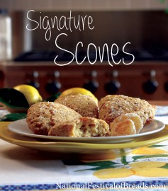 Photo: Signature Scones.