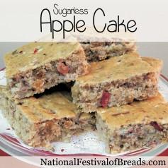Image: Sugarless Apple Cake.