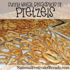 Image: Sunny Wheat Pretzels.
