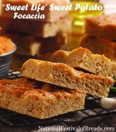 Image: Sweet Life Sweet Potato Focaccia.