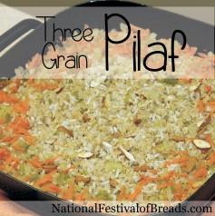 Image: Three Grain Pilaf.