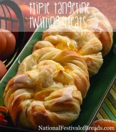 Image: Triple Tangerine Twirling Treats.