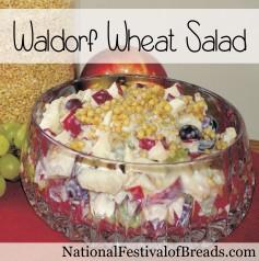 Image: Waldorf Wheat Salad.