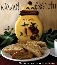 Photo: Walnut Biscotti.