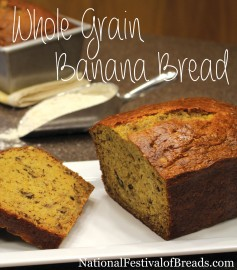 Photo: Whole Grain Banana Bread.