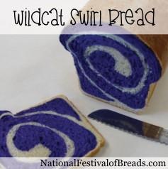 Photo: Wildcat Swirl Bread.